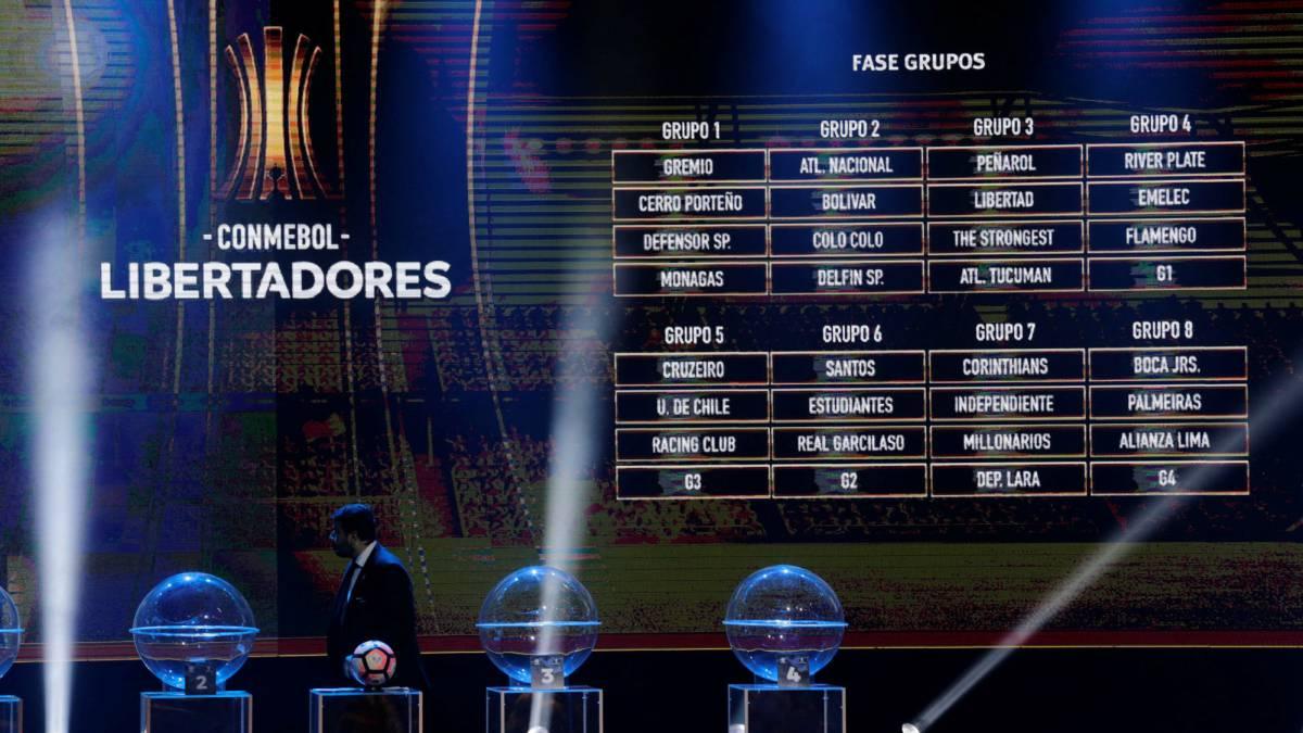 Calendario Y Fechas De La Copa Libertadores 2018 As Colombia