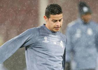 James Rodríguez: En el Madrid me entrenaba el doble