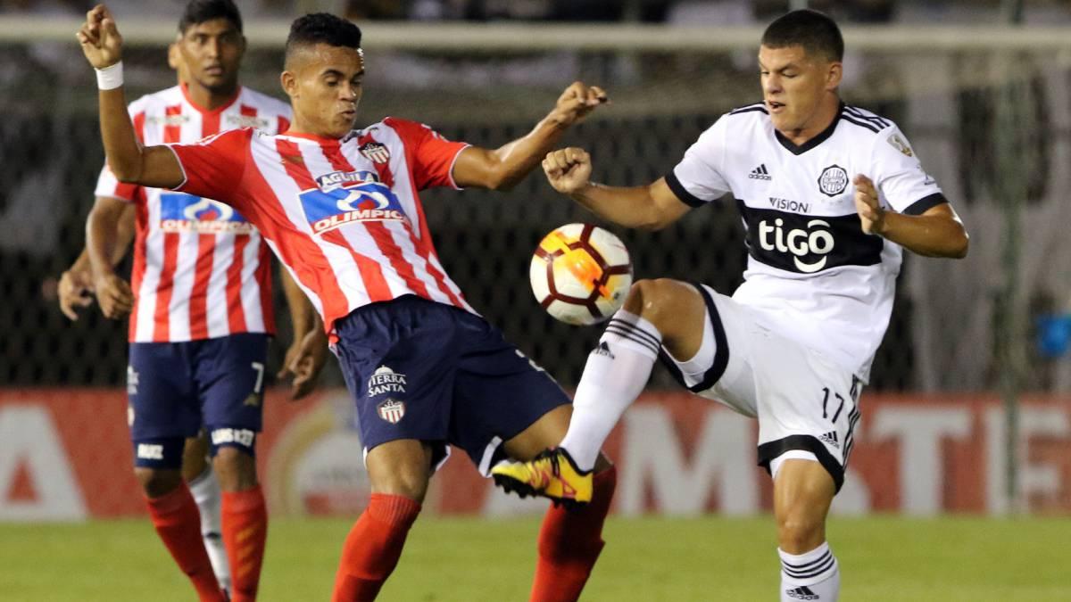 Junior perdió en el primer partido de Copa frente a Olimpia, tendrá que remontar en casa el 8 de febrero