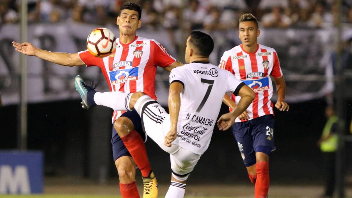 Junior-Olimpia en vivo online: Copa Libertadores, Fase II