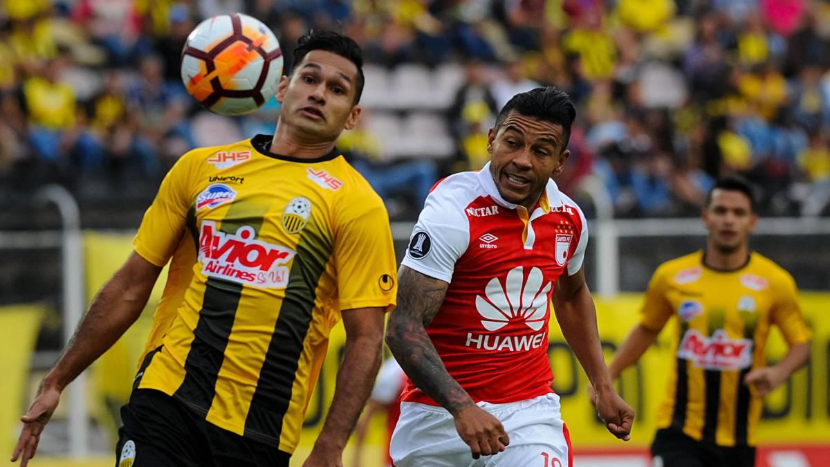 Santa Fe espera ser fuerte en casa y eliminar a Táchira de la Libertadores.