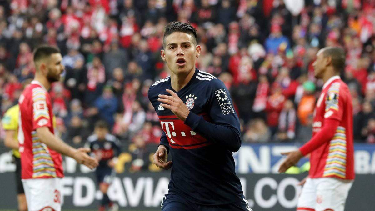 8c456b16190f9 El Bayern estaría dispuesto hacer la opción de compra por James Rodríguez