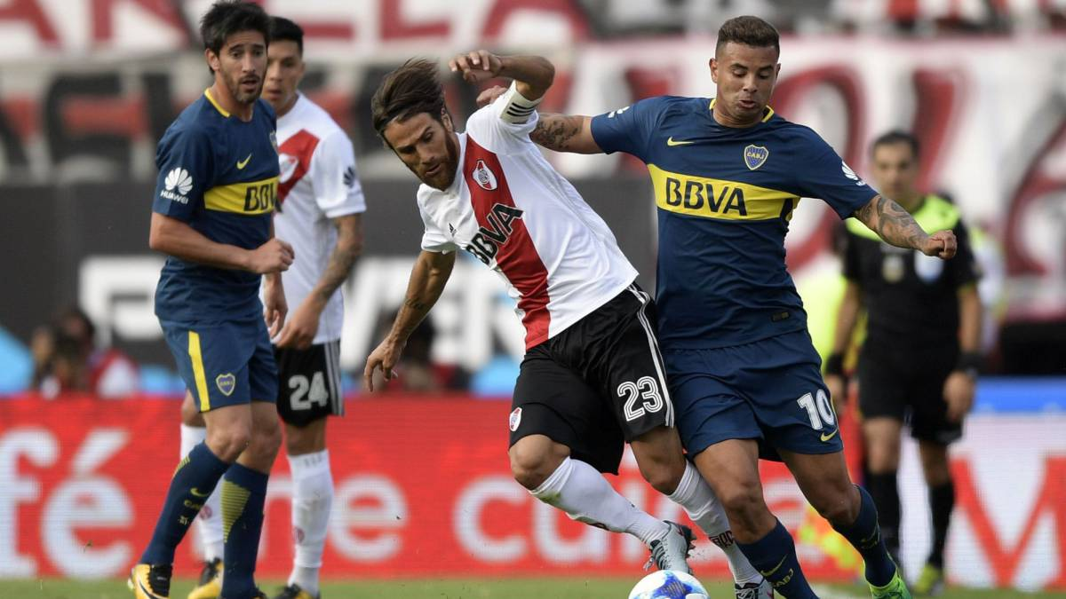 Cinco colombianos lucharán en el Boca Juniors vs. River Plate por la Supercopa Argentina