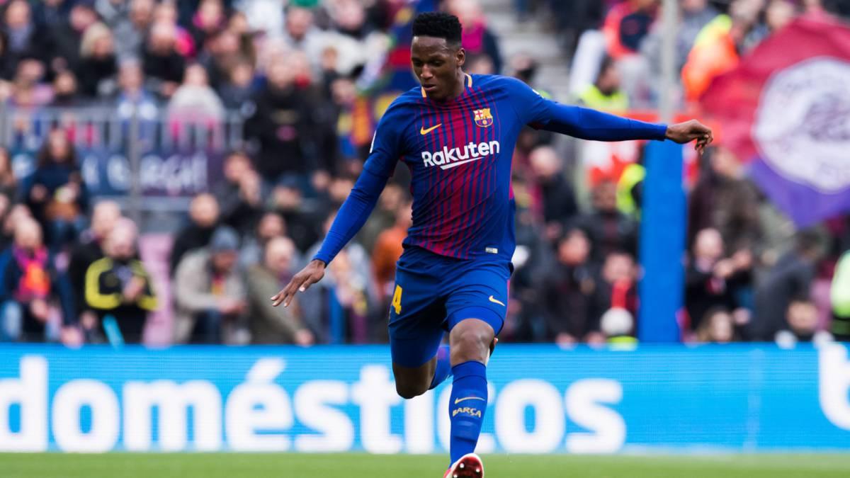 Barcelona podría ceder a Yerry Mina al West Ham United de Inglaterra