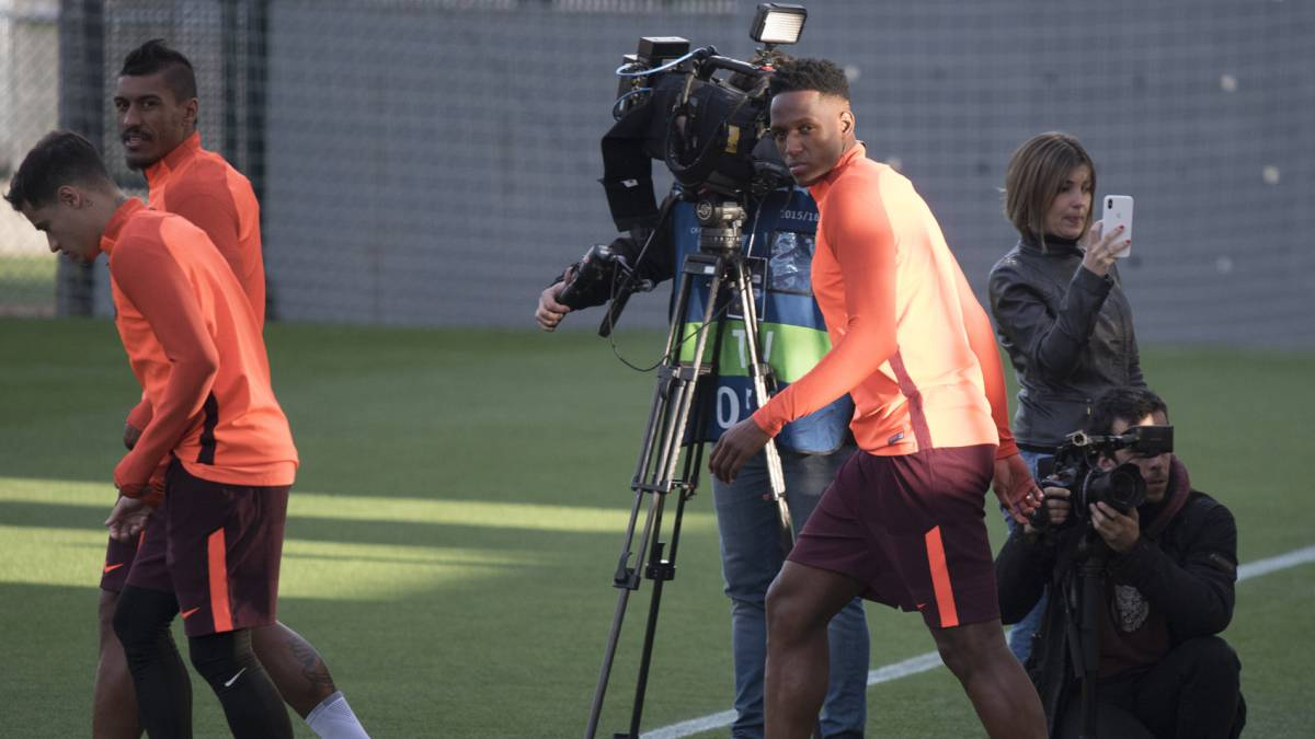 Yerry Mina, convocado para el partido ante Athletic