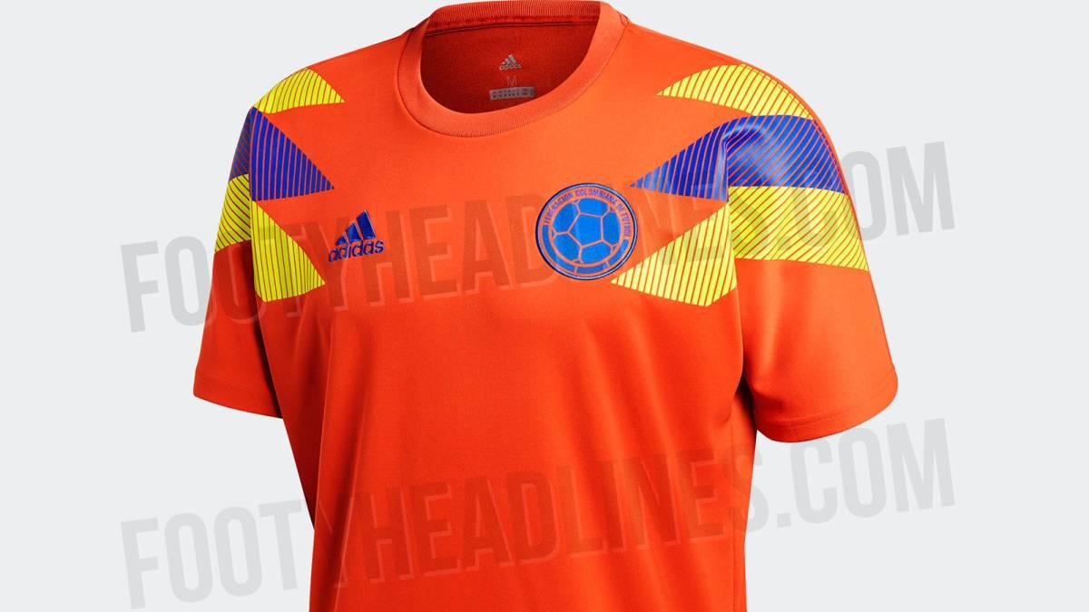 Nueva Camiseta De Colombia 2019 Detail: Colombia También Tendrá Camiseta Naranja Edición Especial