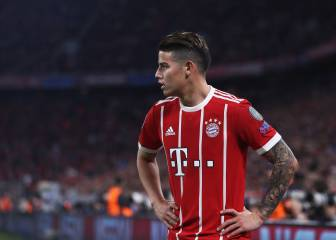 James y los 7 que han jugado en Real Madrid y Bayern