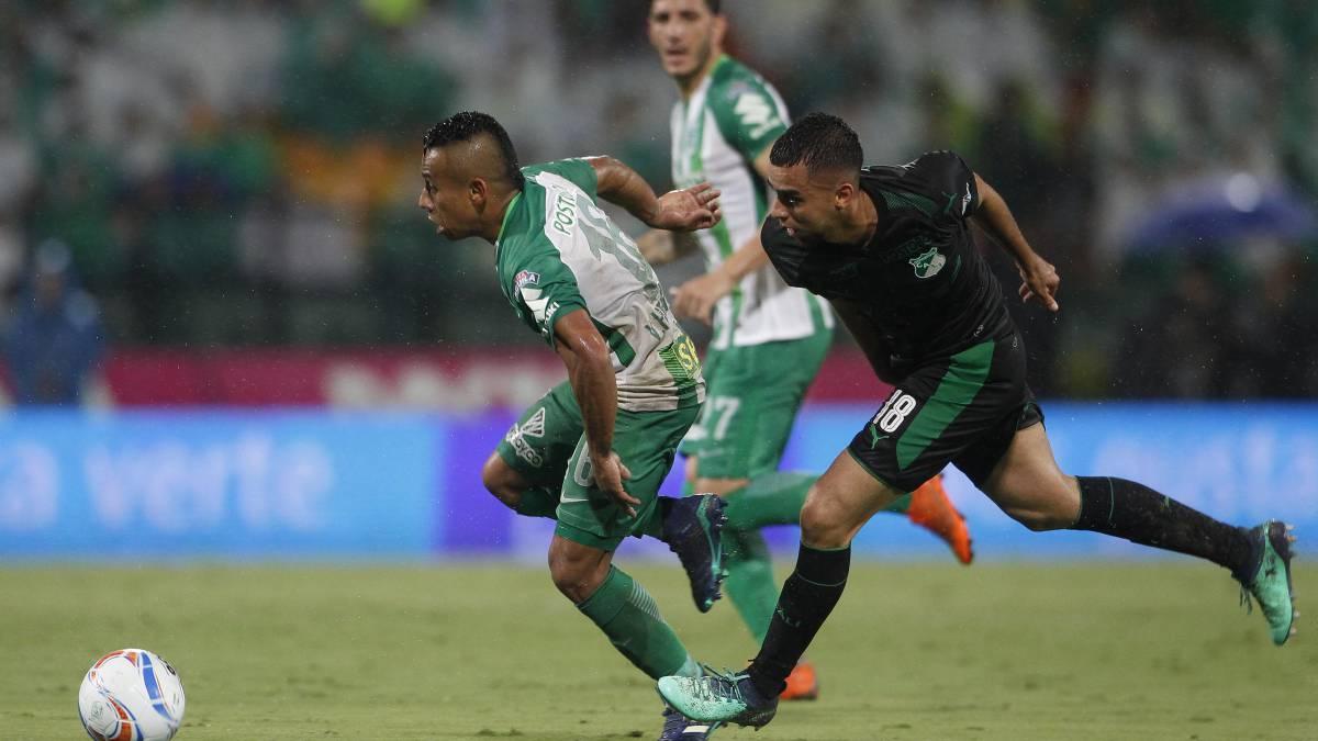 59224bf28c8ef Atlético Nacional avanzó a las semfinales de la Liga tras ganar 2-0 ante  Deportivo