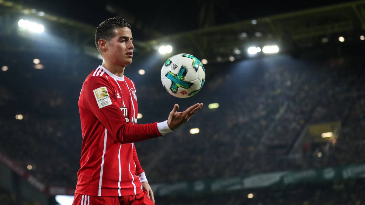 8196131c3fc James Rodríguez to stay at Bayern Munich - AS.com