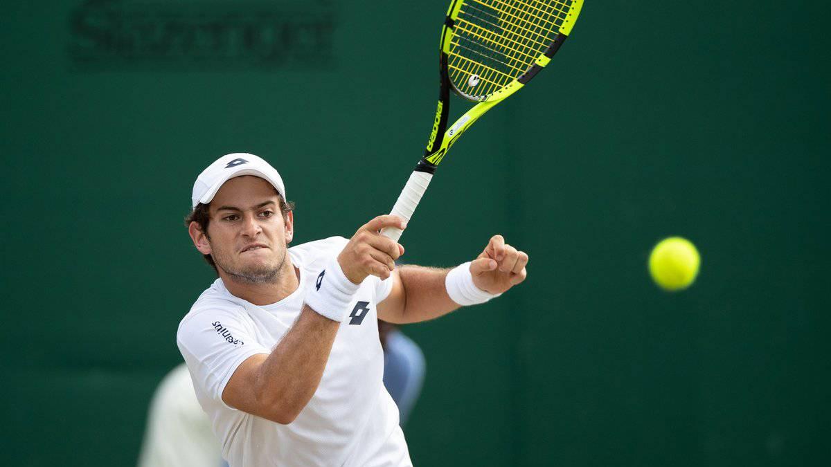 Nicolás Mejía fue eliminado de Wimbledon Júnior