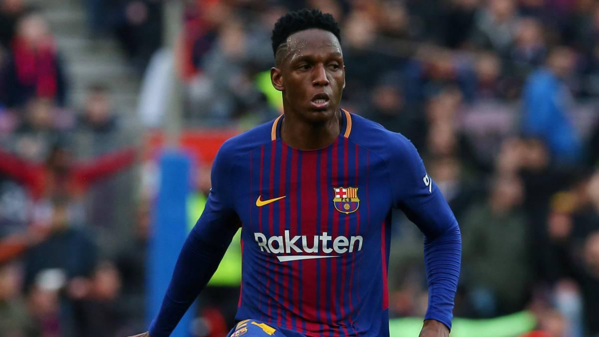 Yerry Mina jugará en el Everton de la Premier League, así lo afirma el Diario Sport de Barcelona. Iría por cinco temporadas y 32 millones de euros