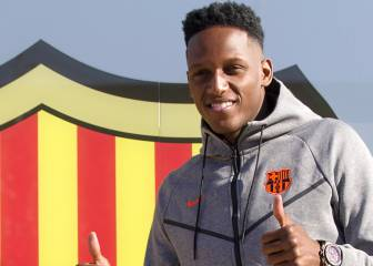 Yerry Mina se despide del Barcelona con emotiva carta