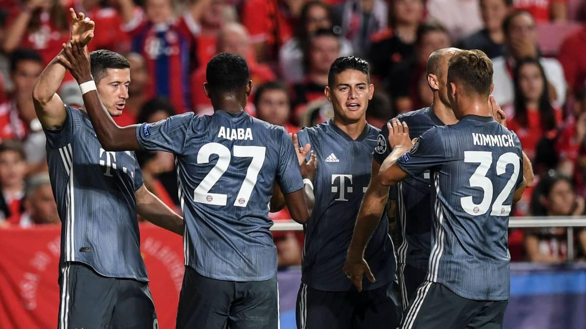 Resultado de imagen para GRUPO E | BENFICA 0-BAYERN 2 Sánchez le da la victoria al Bayern ante su Benfica