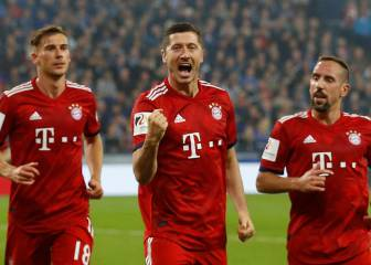 James y Lewandowski dan el triunfo al Bayern Munich