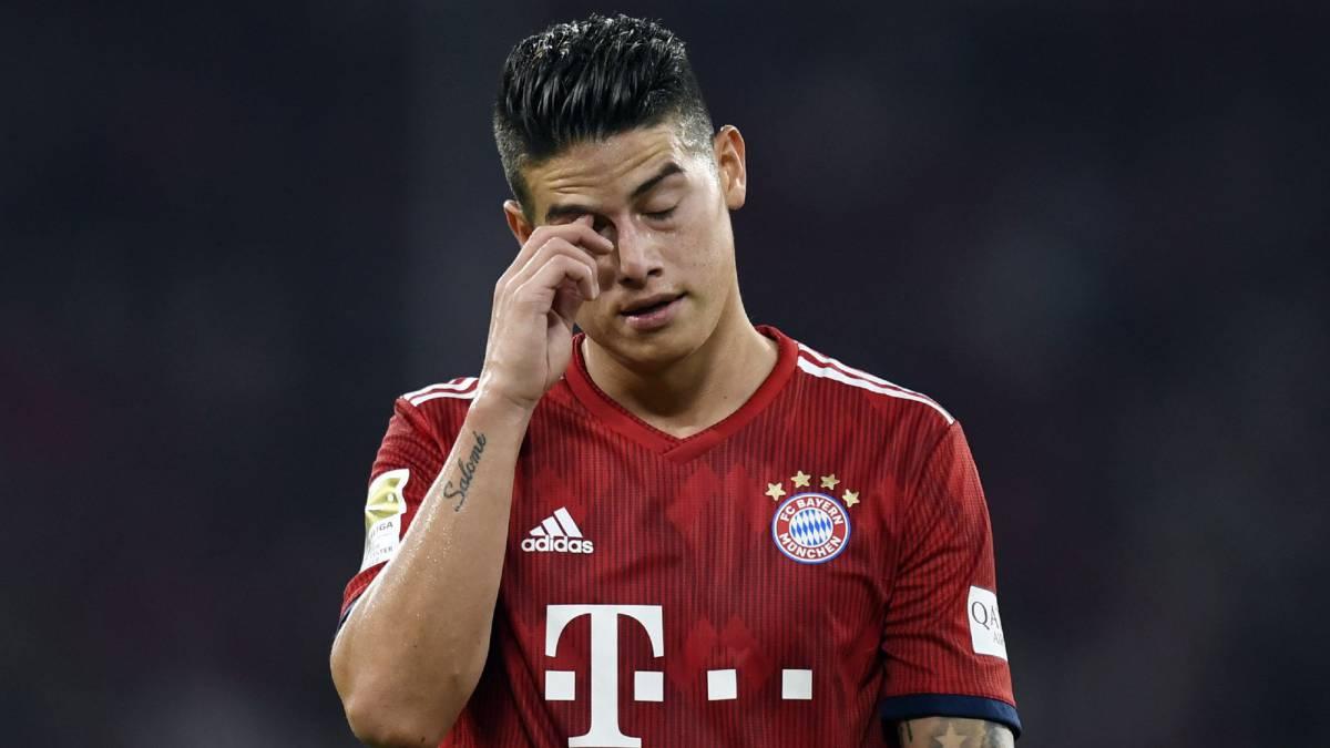 La crisis crece: Bayern cae goleado con James los 90'