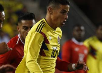 Colombia 1x1: James, Cuadrado y 'Cucho' brillan en New Jersey