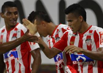 Junior recibe a Defensa y Justica en Copa Sudamericana