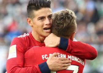 Kovac, feliz con James: