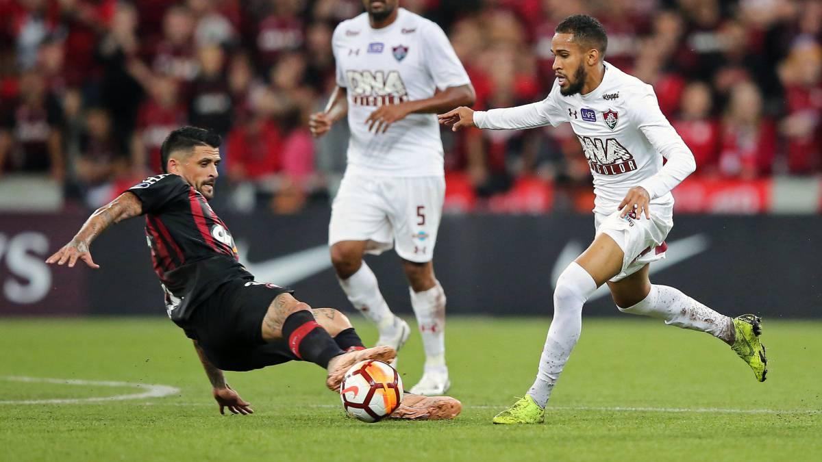 En vivo online Paranaense - Fluminense, por la ida de la semifinal de la Copa Sudamericana que se disputará en la Arena da Baixada a partir de las 6:45 p.m., el miércoles 7 de noviembre de 2018
