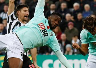 Jefferson Lerma anota en la derrota del Bournemouth