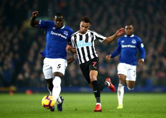 Everton cede un empate en su estadio contra Newcastle