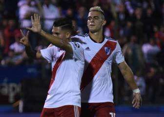Juan Fernando Quintero sigue 'on fire' con River Plate