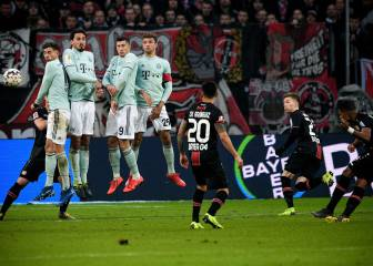 Bayern con James en cancha pierde ante Bayer Leverkusen