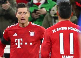 Lewandowski sobre James: