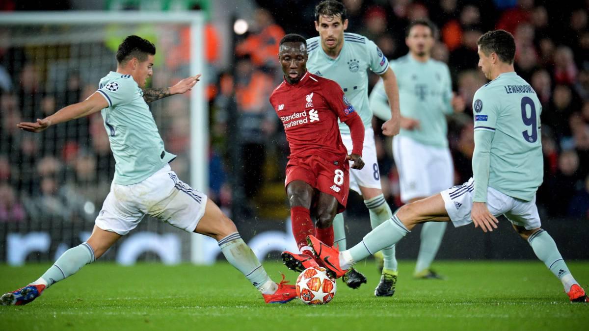CHAMPIONS LEAGUE. James juega 87 minutos en su partido 50 que empató el Bayern Múnich