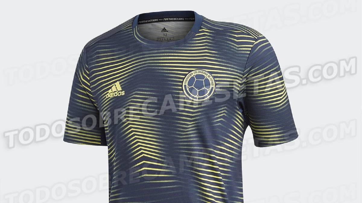 Nueva Camiseta De Colombia 2019 Detail: Así Será La Nueva Camiseta De Entrenamiento De La