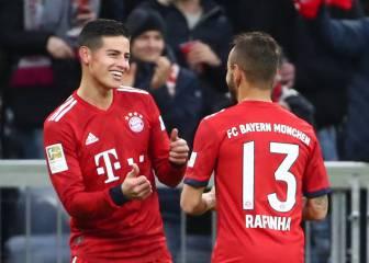 James llega a 100 goles en la victoria del Bayern Múnich d5a02ce9d68