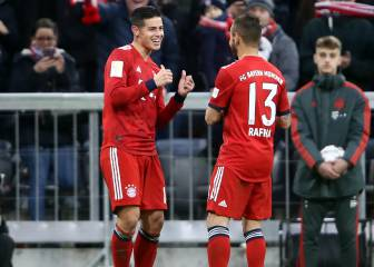 James vs Reus, gran duelo en el tramo final de la Bundesliga