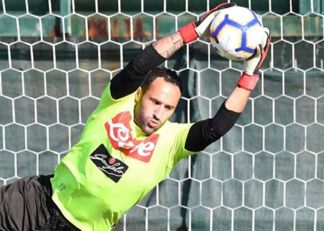 David Ospina regresó a entrenamientos con el Napoli