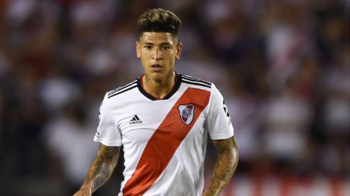 Jorge Carrascal, en convocatoria de River Plate para Libertadores ...