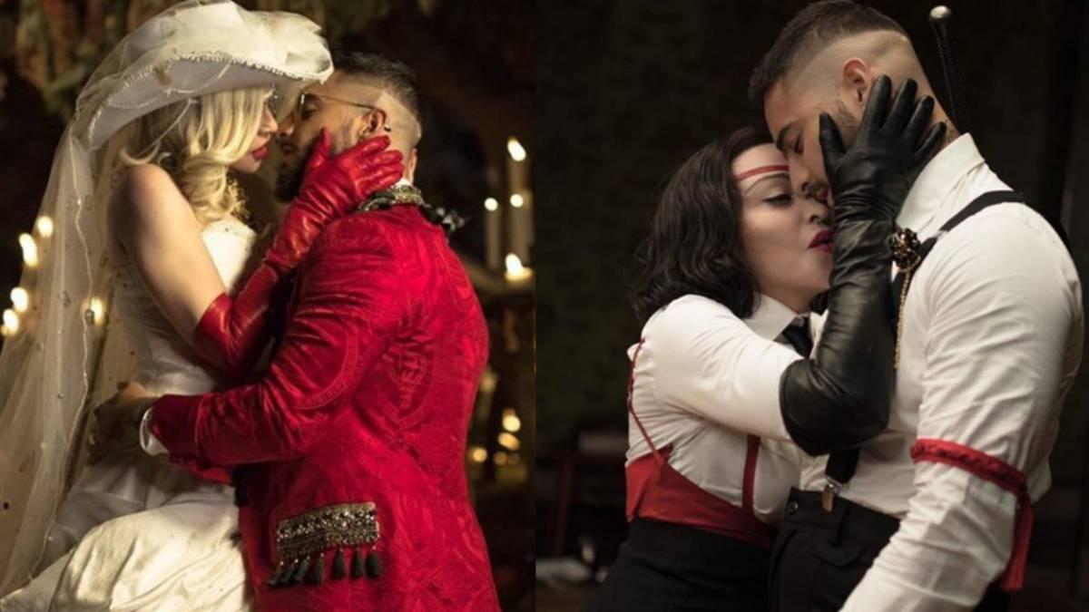 Las Polémicas Escenas Del Video Entre Madonna Y Maluma As
