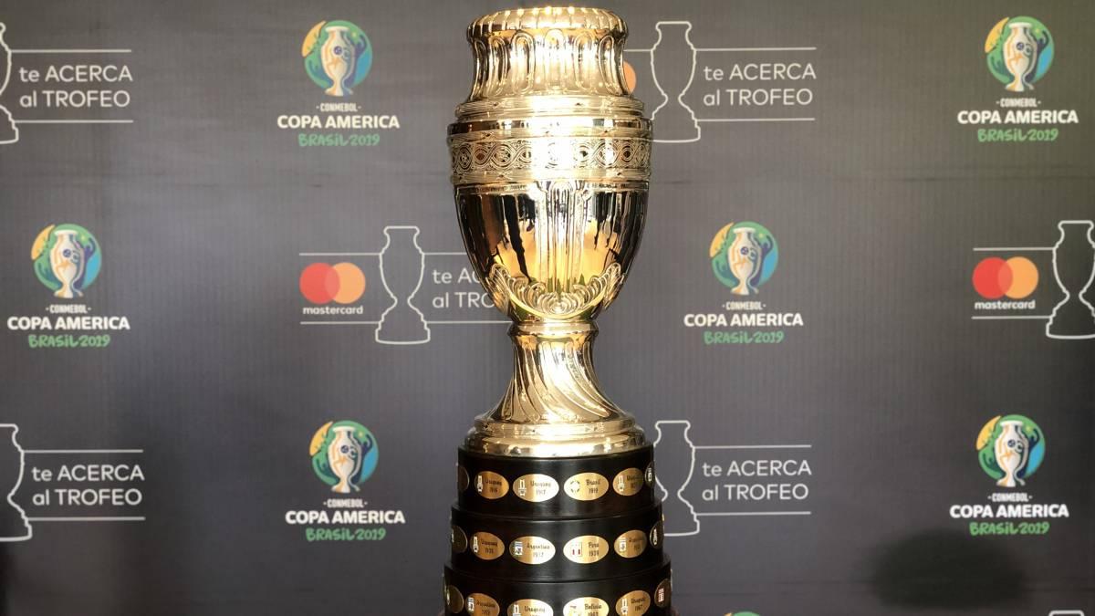 Resultado de imagen para copa america 2019 trofeo