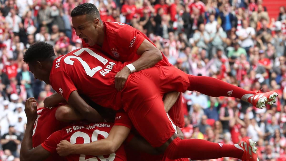 Bayern 5 - 1 Eintracht Frankfurt: Resultado, resumen y ...