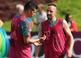 James disponible y Kovac evita dar pistas sobre el XI de la final