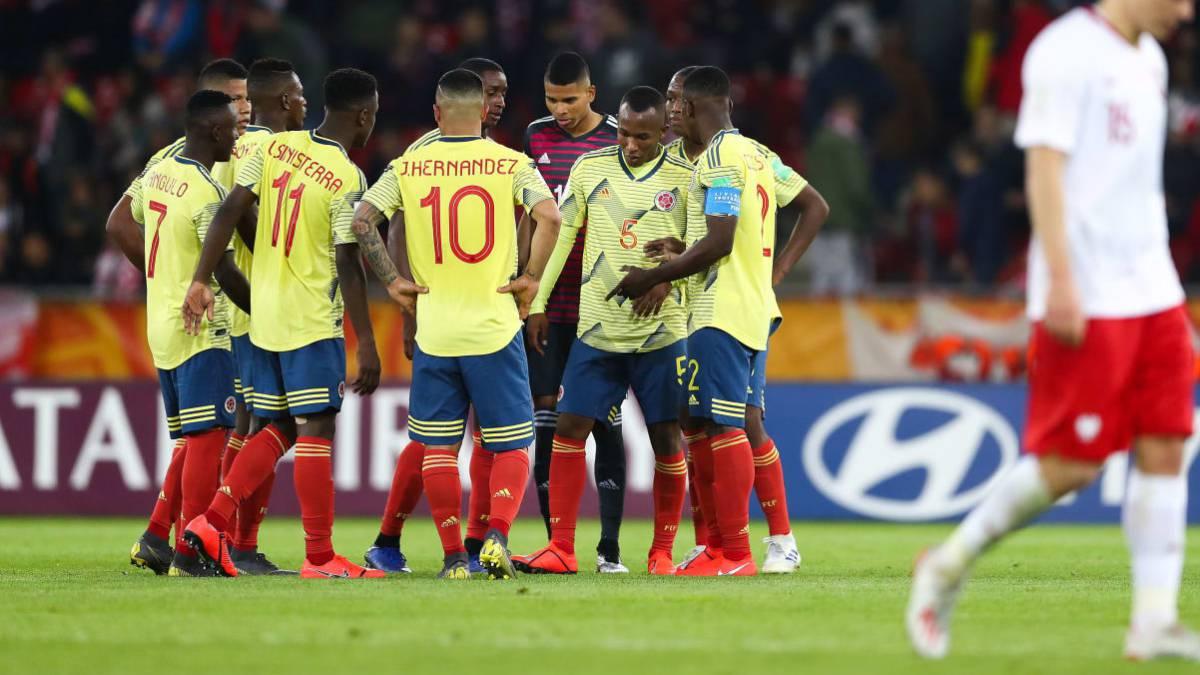 Resultado de imagen para colombia sub 20