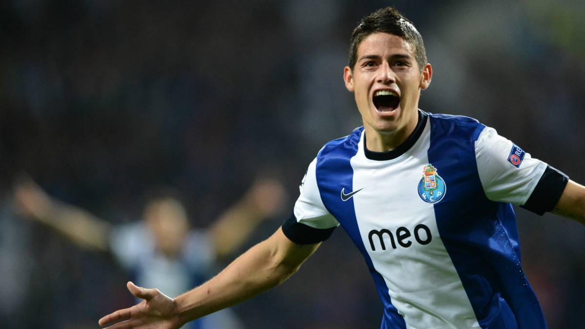 James, Falcao... Porto, primera casa de colombianos en Europa - AS ...
