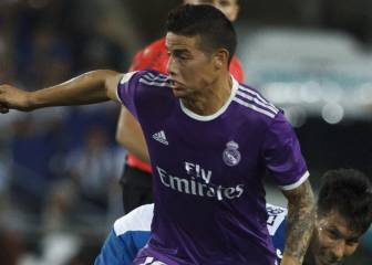 Lo que aportaría James al Real Madrid en la temporada 19/20