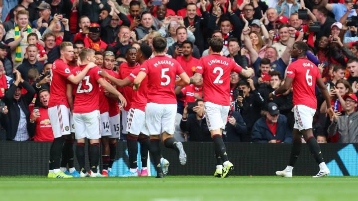 En vivo online Manchester United 4-0 Chelsea, por la primera fecha de la Premier League.