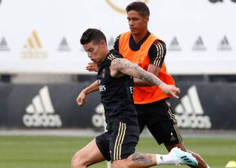 Retos de James en su posible reaparición con Real Madrid