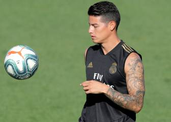 James Rodríguez injury not as bad as first thought