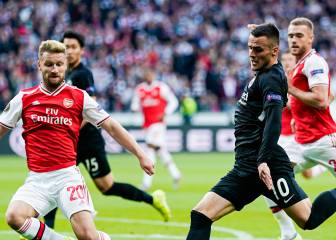 Arsenal golea al Eintracht en el debut en Europa League
