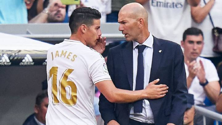 James en Madrid sería motivo de ruptura entre Zidane y Pérez - AS ...