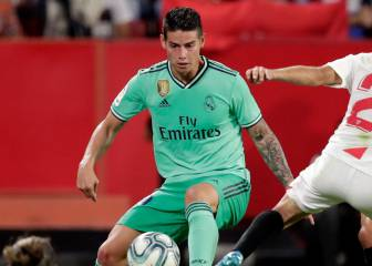 James se destaca en la victoria del Real Madrid ante Sevilla