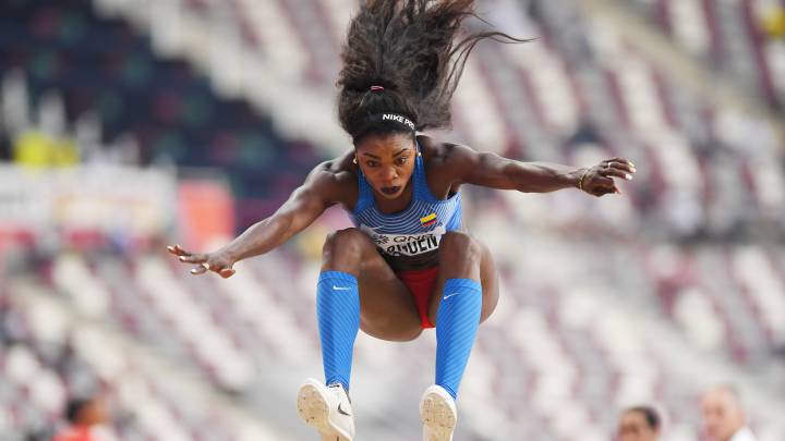 Caterine Ibargüen avanza a la final del salto triple en Doha - AS ...