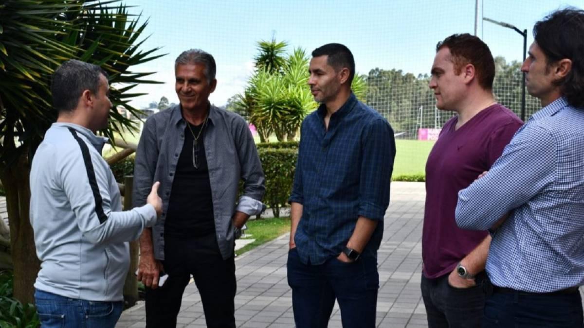 Queiroz visita sedes de DIM, Rionegro y Nacional para la Copa - AS Colombia