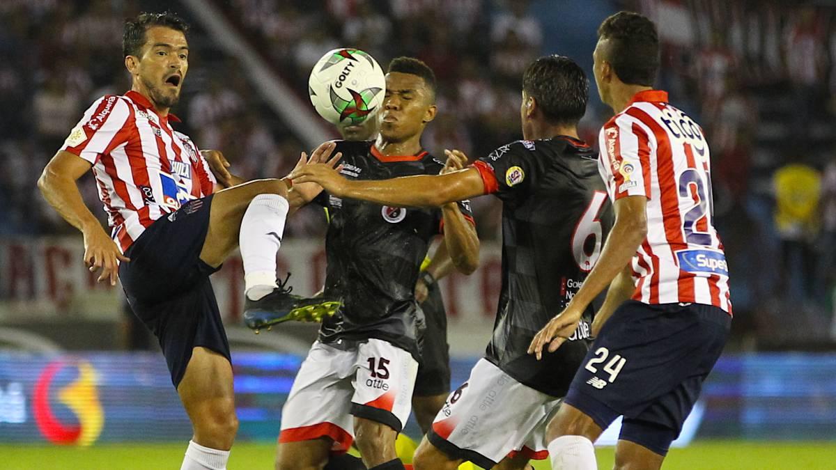 Cúcuta y Junior, por su primera victoria en el Grupo A - AS Colombia